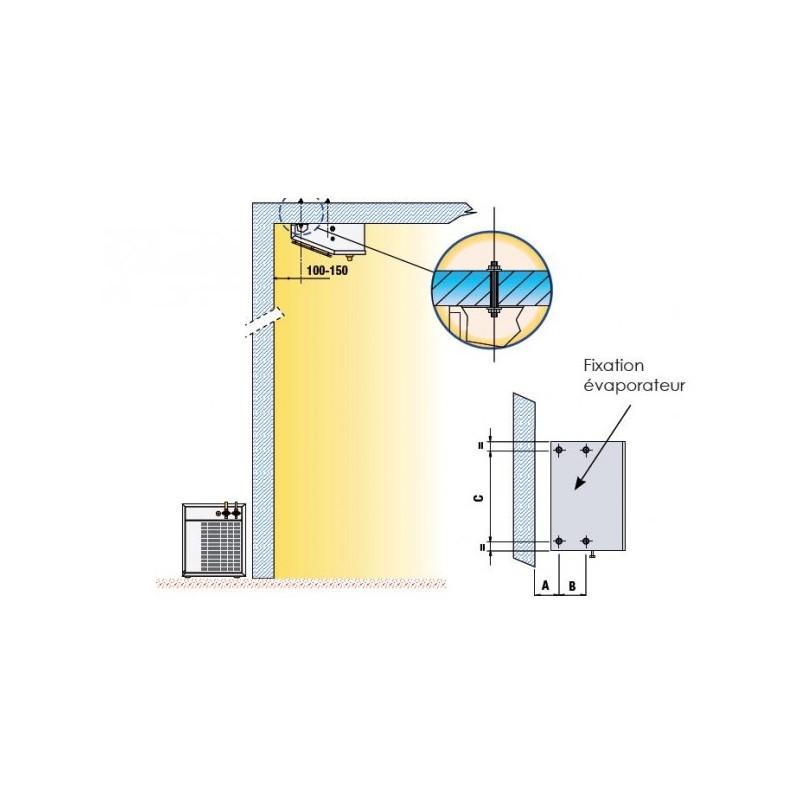 Groupe frigorifique n gatif unit de condensation for Conception de chambre froide negative
