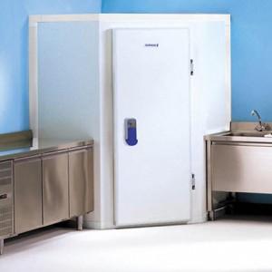 Mini Chambre Froide Positive d'Angle avec sol, Petit Espace