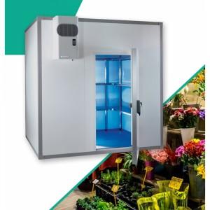 Chambre Froide Climatique Pour Fleuriste Panneaux M2