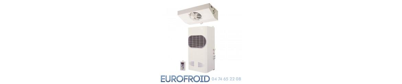 Groupe frigorifique split paroi verticale unit de for Paroi chambre froide